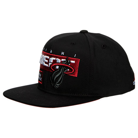 adidas Miami Heat NBA Snapback Hat