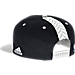 Back view of Men's adidas Brooklyn Nets NBA 2016 Draft Snapback Hat in Team Colors
