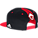 Back view of Men's adidas Chicago Bulls NBA 2016 Draft Snapback Hat in Team Colors