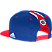 Back view of Men's adidas Los Angeles Clippers NBA 2016 Draft Snapback Hat in Team Colors