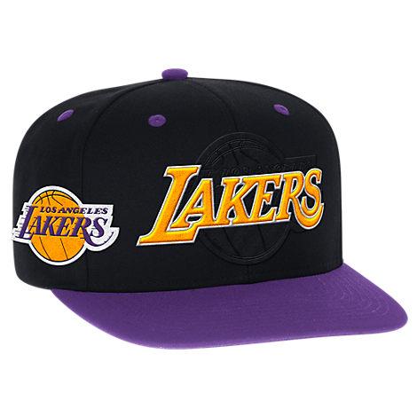 Men's adidas Los Angeles Lakers NBA 2016 Draft Snapback Hat