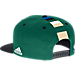 Back view of Men's adidas Milwaukee Bucks NBA 2016 Draft Snapback Hat in Team Colors