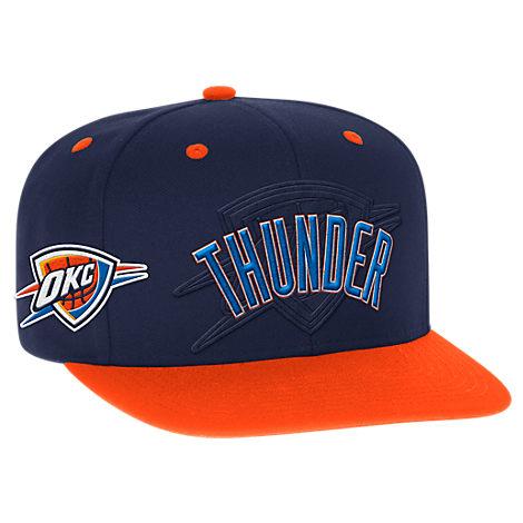 Men's adidas Oklahoma City Thunder NBA 2016 Draft Snapback Hat