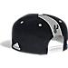 Back view of Men's adidas San Antonio Spurs NBA 2016 Draft Snapback Hat in Team Colors