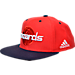 Back view of Men's adidas Washington Wizards NBA 2016 Draft Snapback Hat in Team Colors