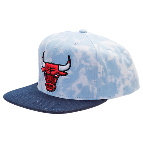 adidas Chicago Bulls NBA Denim Snapback Hat
