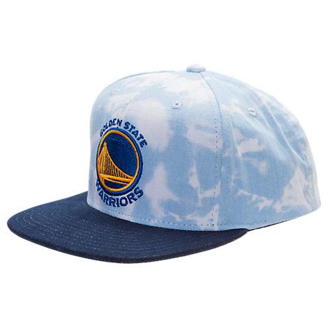 adidas Golden State Warriors NBA Denim Snapback Hat