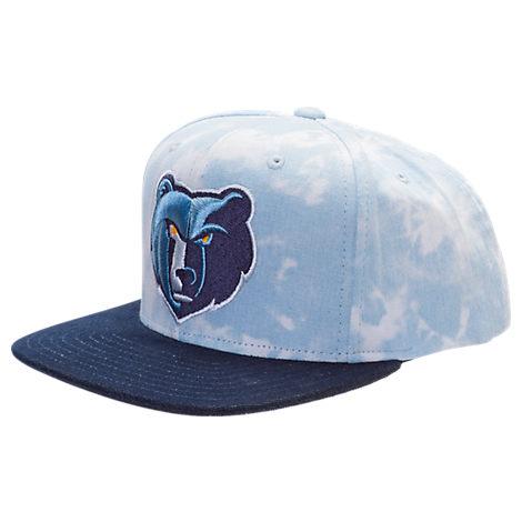 adidas Memphis Grizzlies NBA Denim Snapback Hat