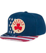 Men's adidas Boston Celtics NBA 2016 Patriotic Snapback Hat