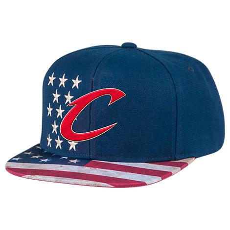 Men's adidas Cleveland Cavaliers NBA 2016 Patriotic Snapback Hat