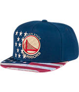 Men's adidas Golden State Warriors NBA 2016 Patriotic Snapback Hat