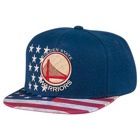 Men's adidas Golden State Warriors NBA 2016 Patriotic Snapback Hat