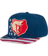 Men's adidas Memphis Grizzlies NBA 2016 Patriotic Snapback Hat