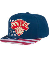 Men's adidas New York Knicks NBA 2016 Patriotic Snapback Hat