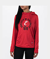 Women's Under Armour Cincinnati Bearcats College Poly Hoodie