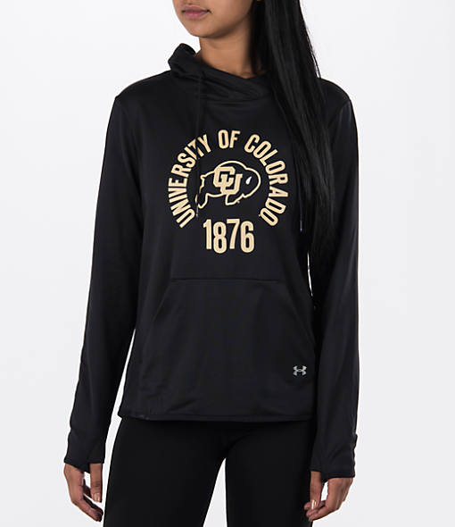 Women's Under Armour Colorado Buffaloes College Poly Hoodie