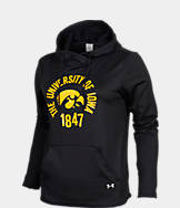 Women's Under Armour Iowa Hawkeyes College Poly Hoodie