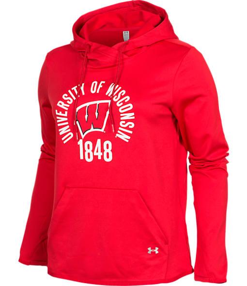 Women's Under Armour Iowa Hawkeyes College Poly Hoodie
