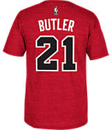 Men's adidas Chicago Bulls NBA Hardwood Classics Jimmy Butler T-Shirt