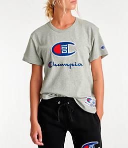 Womens Champion Century T-Shirt,Oxford Grey