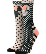 Women's Stance Minnie Mouse Crew Socks