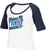 Women's adidas Oklahoma City Thunder NBA Floralized Tank