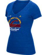Women's adidas Cleveland Cavaliers NBA 2016 Champ Logo T-Shirt