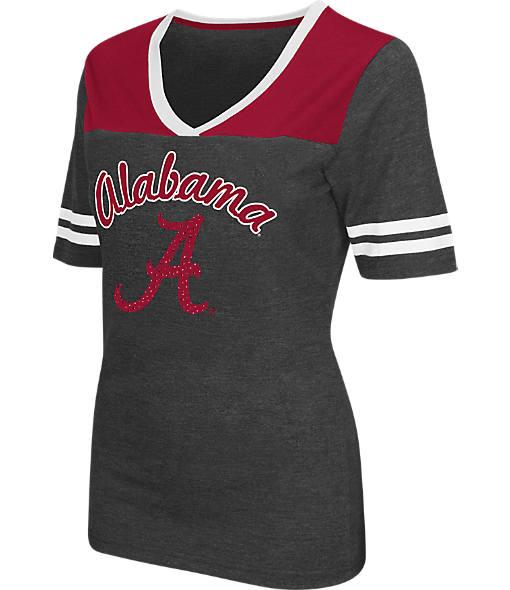 Women's Stadium Alabama Crimson Tide College Twist V-Neck T-Shirt