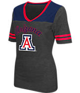Women's Stadium Arizona Cardinals College Twist V-Neck T-Shirt