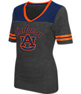 Women's Stadium Auburn Tigers College Twist V-Neck T-Shirt