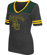 Women's Stadium Baylor Bears College Twist V-Neck T-Shirt