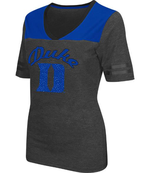 Women's Stadium Duke Blue Devils College Twist V-Neck T-Shirt
