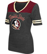 Women's Stadium Florida State Seminoles College Twist V-Neck T-Shirt