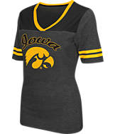 Women's Stadium Iowa Hawkeyes College Twist V-Neck T-Shirt