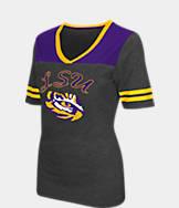 Women's Stadium LSU Tigers College Twist V-Neck T-Shirt