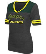 Women's Stadium Oregon Ducks College Twist V-Neck T-Shirt