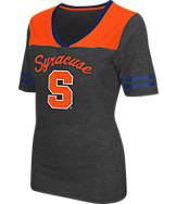 Women's Stadium Syracuse Orange College Twist V-Neck T-Shirt