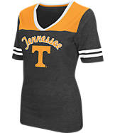 Women's Stadium Tennessee Volunteers College Twist V-Neck T-Shirt