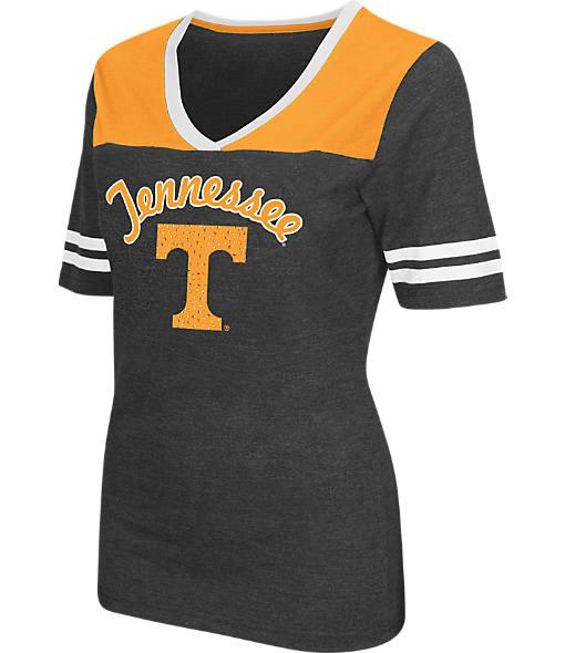 Women's Stadium Tennessee Volunteers College Twist V-Neck T-Shirt