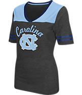 Women's Stadium North Carolina Tar Heels College Twist V-Neck T-Shirt
