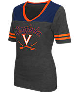 Women's Stadium Virginia Cavaliers College Twist V-Neck T-Shirt