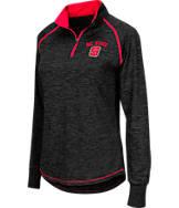 Women's Stadium NC State Wolfpack College Bikram 1/4 Zip Shirt