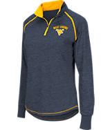 Women's Stadium West Virginia Mountaineers College Bikram 1/4 Zip Shirt