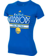 Women's adidas Golden State Warriors NBA 2015 Finals T-Shirt