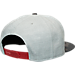 Back view of '47 Brand Boston Red Sox MLB Grey Recon Camo Snapback Hat in White