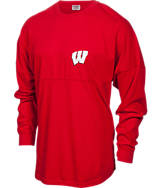 Women's Press Box Wisconsin Badgers College TC Spirit T-Shirt