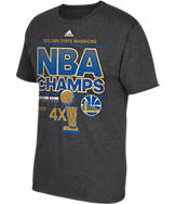Men's adidas Golden State Warriors NBA 2015 Champs T-Shirt