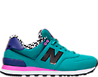 Women's New Balance 574 Acrylic Casual Shoes