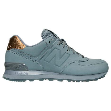 Women's New Balance 574 Molten Metal Casual Shoes
