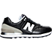 Right view of Women's New Balance 574 Gradient Casual Shoes in Black/Husk